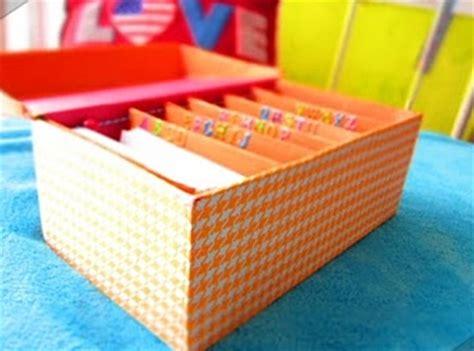 como hacer un fichero como hacer ficheros con cajas de zapatos imagui