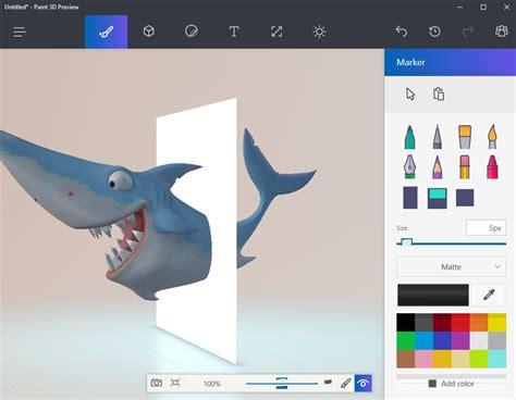 paint 3d help enjoy microsoft s paint 3d