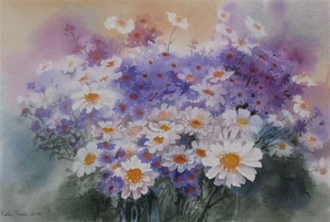 fiori acquerelli acquerelli fiori