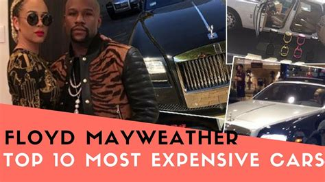 mayweather most expensive floyd mayweather top 10 most expensive cars in his