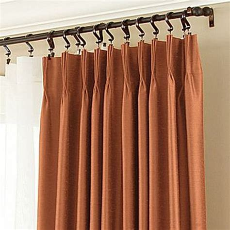 pinch pleat drapery stylish thermal curtains to deck up your home hometone