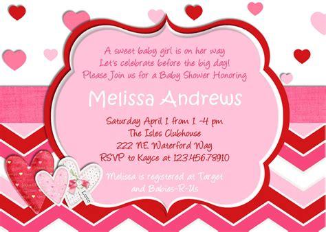 valentines invitation hearts baby shower invitation hearts you print