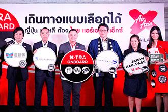 thai airasia x launches onboard sky ticket service