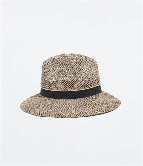 zara straw hat in lyst