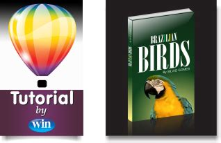 corel draw x6 book remake video tutorial how to draw a mockup of a book