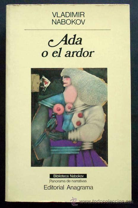 ada o el ardor vladimir nabokov anagrama comprar en todocoleccion 48819026