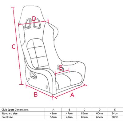 corbeau sport seat dimensions corbeau club sport seat for track day road and non