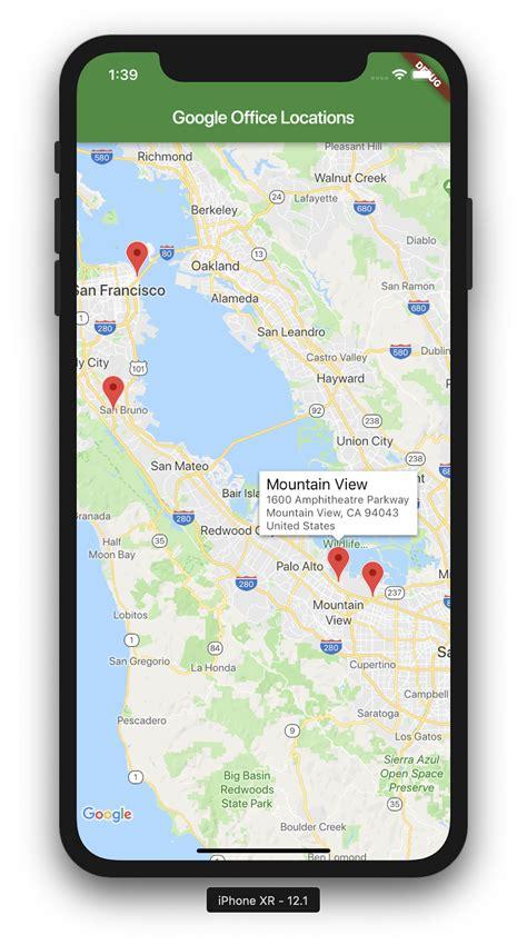 adding google maps   flutter app