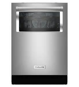 kitchenaid 174 44 dba dishwasher with window and lighted