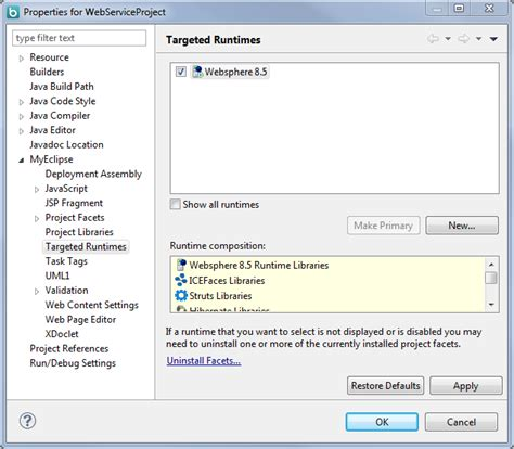 tutorial web service websphere myeclipse rad alternative for websphere development