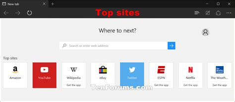 best sit change what new tabs in microsoft edge open with windows