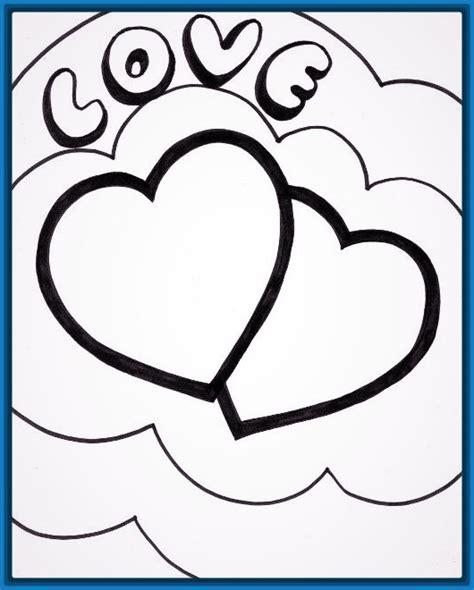 imagenes lindas para dibujar a lapiz faciles imagenes para dibujar a lapiz de corazones archivos