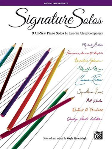 signature solos bk 4 9 all new piano solos by favorite - 1470632160 Signature Solos Book All New
