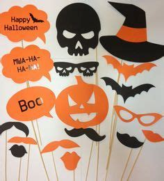 halloween photo booth props printable pdf printable halloween photo props halloween party photos