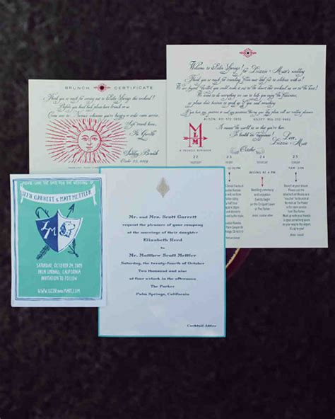 Velez College Letterhead a modern turquoise and pink outdoor wedding in california