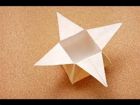 tutorial origami youtube origami star box tutorial youtube