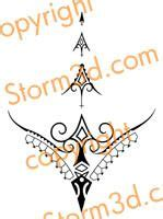 tribal thong tattoo 1000 ideas about tribal designs on
