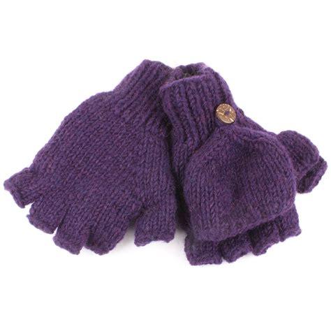 knit mittens with fleece lining fingerless gloves mittens fleece lined wool knit shooting