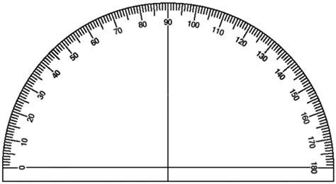 printable protractor half circle using a protractor