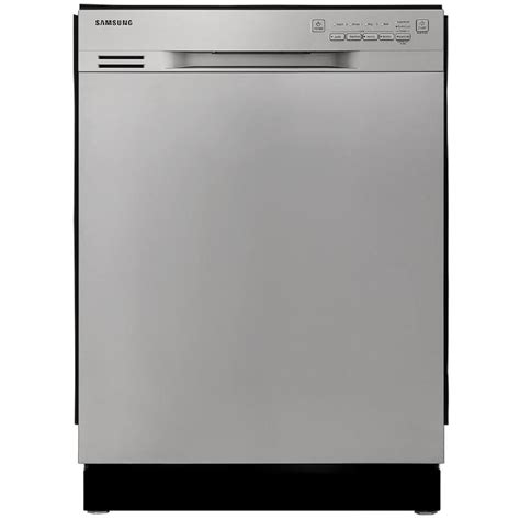 Samsung Dishwasher Shop Samsung 50 Decibel Built In Dishwasherwith Food Disposer Stainless Steel Common 24