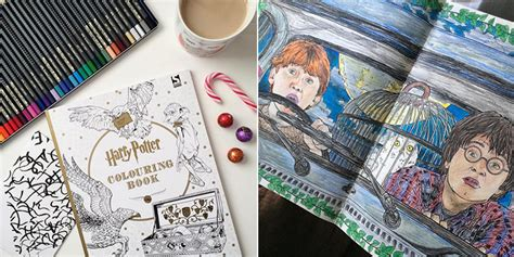 harry potter coloring book ideas i bought a harry potter coloring book and it changed my
