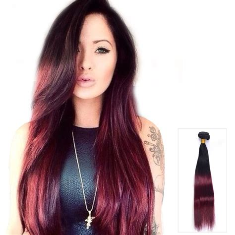 99j hair color weave 24 inch wave ombre indian remy hair weave three tone
