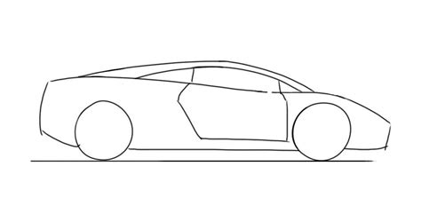 How To Draw A Lamborghini How To Draw Lamborghini Cars Sketch Coloring Page