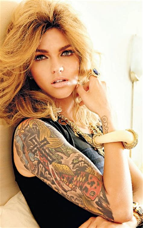 ruby rose blonde in cleo pictures