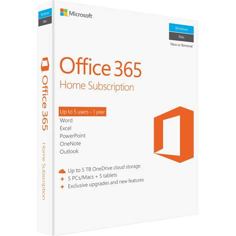 Office 365 Subscription Microsoft Office 365 Home Subscription 29 99 Aafes