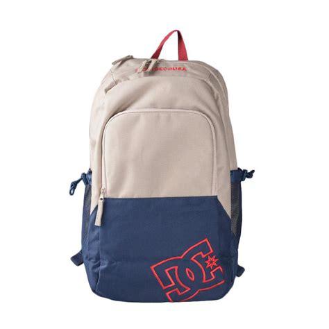 Harga Tas Ransel Dc Original jual dc backpack detention ii tas ransel khaki edybp03091 tky0 harga kualitas