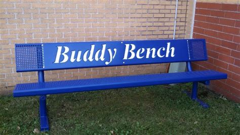 the buddy bench west elementary buddy bench