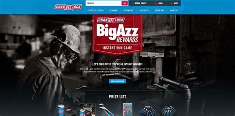 Channellock Com Sweepstakes - bigazzrewards com channellock bigazz rewards instant win game and sweepstakes do