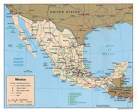 map of mexico and america maps of mexico map library maps of the world