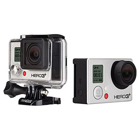Gopro 3 Silver Edition 10mp Buy Gopro Hero3 Silver Edition Camcorder Hd 1080p 10mp Wi Fi Lewis