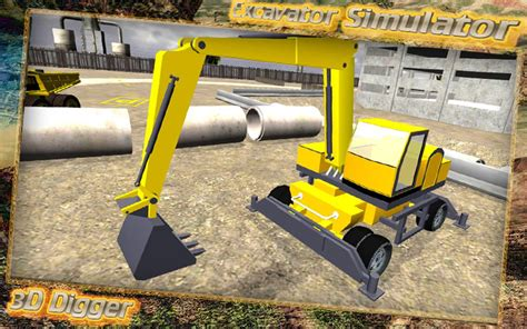 excavator simulator apk excavator simulator 3d digger 1 2 apk android simulation
