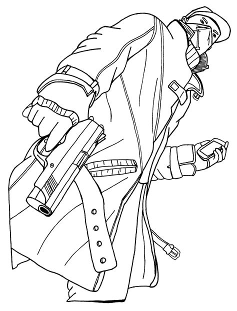 Watch Dogs Coloring Page | how to draw watch dogs