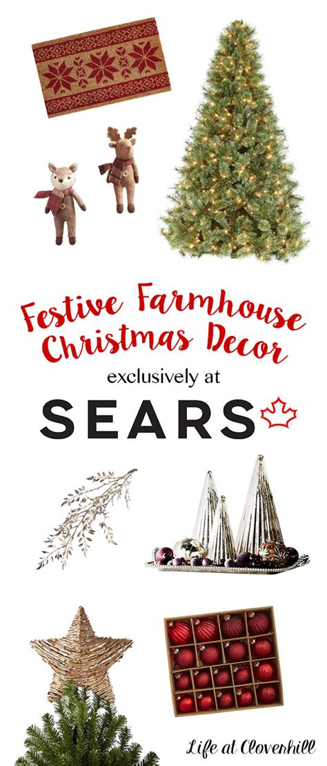 getting ready for christmas with sears canada