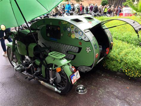 Motorrad Winterfest Machen Checkliste by Z 252 Ndapp Gr 252 Ner Elefant Caravan Seitenwagen Umbau