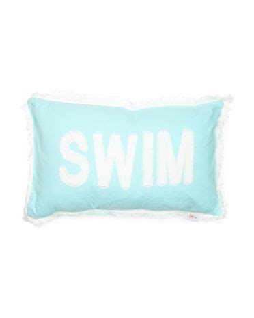 tj maxx decorative pillows 14x26 swim fringe pillow decor pillows decorative pillows decor