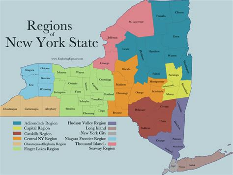 Upstate Search Facts About New York State