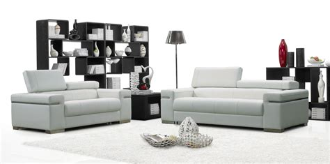 moderne furniture soho leather sofa set