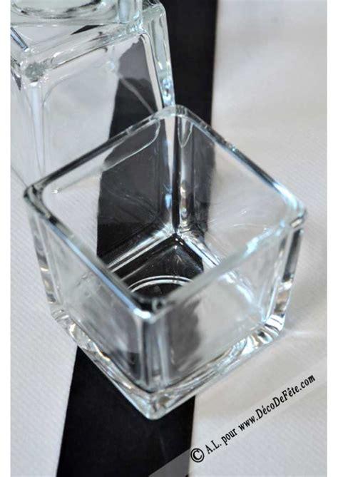 1 mini vase carr 233 verre 6cm