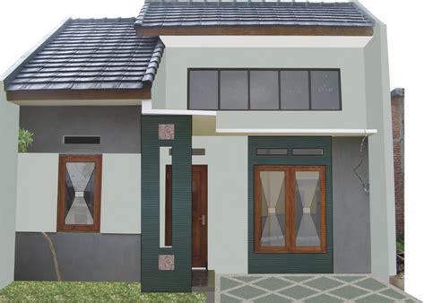 contoh gambar desain rumah minimalis type     lantai cocok  perumahan desain rumah