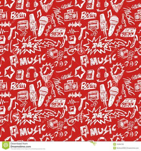 seamless pattern music seamless music pattern stock photo image 16494760