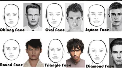 hair styles for oblong mens face shapes oblong face shape men hairstyle for women man