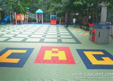 outdoor playground floor rubber floor mats