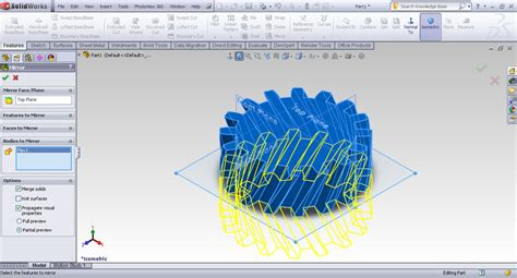 solidworks tutorial helical gear tutorial creating herring bone gear in solidworks grabcad