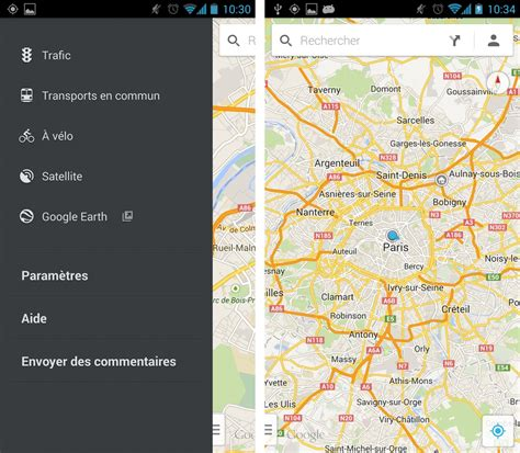 maps for android maps 7 0 la nouvelle application android est l 224