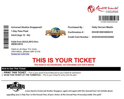 printable universal studios tickets tedtrilogy from changi airport to universal studio