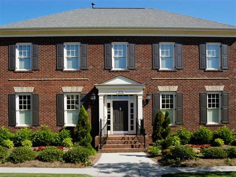 Classic Colonial Homes by Beautiful Brick Homes Hgtv